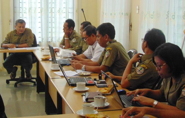 The Wildlife Authority (BBKSDA) in North Sumatra Evaluates Scorpion Activity (August 1, 2017)