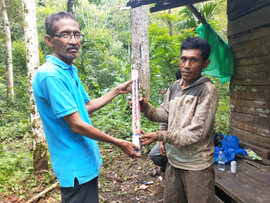 Prevention of Orangutan Capture in Aceh Barat Daya, Sumatra (November 30, 2019)