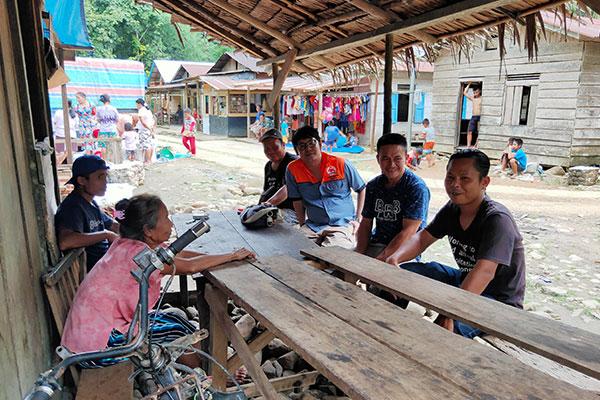 Wildlife Monitoring in Muara Sibuntuon, Central Tapanuli Regency, Sumatra (December 20, 2020)