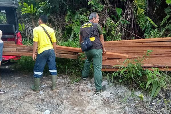 Joint Patrol in Gapuk Julu Village, Batang Toru Ecosystem (July 24, 2021)