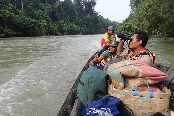Joint Patrol in Sikundur, Sumatra (August 15, 2021)