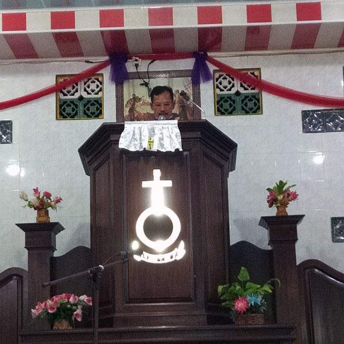 Awareness Campaign for Protection of Tapanuli Orangutans at HKBP Church, Sipan Village, Central Tapanuli Regency (May 24, 2021)